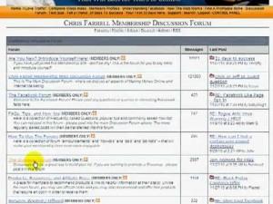 chris farrell membership review - forum
