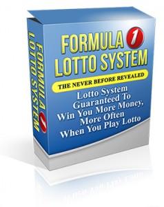 Formula 1 Lotto System
