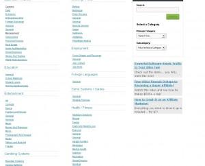 JVZOO Categories